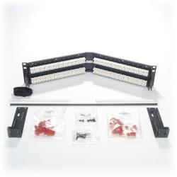Belden - AX105361 - Patch Panel -- Angled - 48 Port - U2 - CAT6
