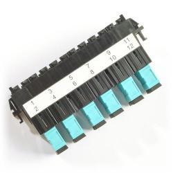Belden - FF3U06SD - Ultra Frame -- FiberExpress - 6 Port - SC - Aqua