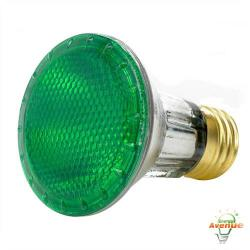 Bulbrite - 683504 - H50PAR20G - Dimmable Halogen Lamp -- 50 Watt - Medium (E26) Base - PAR20 Bulb - 2700K Warm White - Green