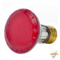 Bulbrite - 683506 - H50PAR20P - Dimmable Halogen Lamp -- 50 Watt - Medium (E26) Base - PAR20 Bulb - 2700K Warm White - Pink