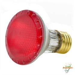 Bulbrite - 683507 - H50PAR20R - Dimmable Halogen Lamp -- 50 Watt - Medium (E26) Base - PAR20 Bulb - 2700K Warm White - Red