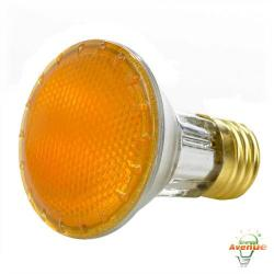 Bulbrite - 683508 - H50PAR20Y - Dimmable Halogen Lamp -- 50 Watt - Medium (E26) Base - PAR20 Bulb - 2700K Warm White - Yellow