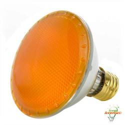 Bulbrite - 683758 - H75PAR30Y - Dimmable Halogen Lamp -- 75 Watt - Medium (E26) Base - PAR30 - Yellow