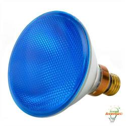 Bulbrite - 683903 - H90PAR38B - Dimmable Halogen Lamp -- 90 Watt - Medium (E26) Base - PAR38 - Blue
