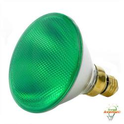 Bulbrite - 683904 - H90PAR38G - Dimmable Halogen Lamp -- 90 Watt - Medium (E26) Base - PAR38 - Green