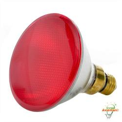 Bulbrite - 683907 - H90PAR38R - Dimmable Halogen Lamp -- 90 Watt - Medium (E26) Base - PAR38 - Red