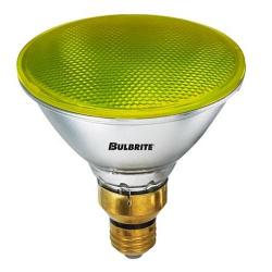 Bulbrite - 683908 - H90PAR38Y - Dimmable Halogen Lamp -- 90 Watt - Medium (E26) Base - PAR38 - Yellow