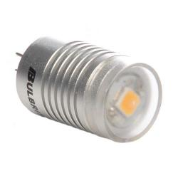Bulbrite - 770510 - LED/JC/12WW - LED Low Voltage Bi-Pin Retrofit -- 0.6 Watt - G4 Base - JC Bi-Pin Bulb - 12V - 2700K Warm White