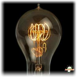 Bulbrite - 134040 - NOS40-VICTOR/A23 - Nostalgic Edison -- 40 Watt - Medium (E26) Base - A23 Bulb - Victorian Loop Filament - 2700K Warm White - Antique