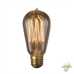 Bulbrite - 136019 - NOS60-1910 - Nostalgic Incandescent 1910 Thread -- 60 Watt - Medium (E26) Base - A19 Bulb - 2700K Warm White - Antique