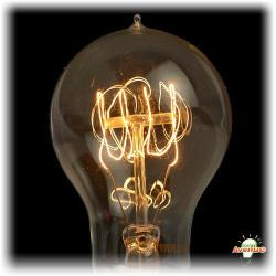 Bulbrite - 136020 - NOS60-VICTOR - Nostalgic Incandescent Victor Loop -- 60 Watt - Medium (E26) Base - A19 Bulb - 2700K Warm White - Antique