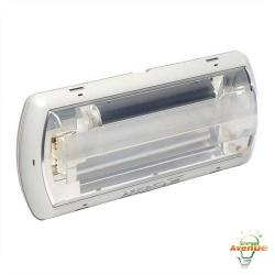Beghelli - TA24-SE-UN-VAT - Tempesta Outdoor Emergency Light Unit -- 24 Watt CFL - 1350 Lumens - 120/277VAC - Polycarbonate Housing