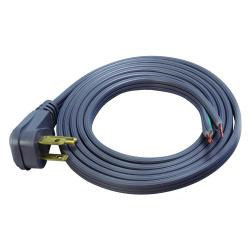Coleman Cable - 02796 - 6 Ft Appliance Cord - General Power Supply -- Gray - 16/3 AWG - 13 Amp - Open End - 09726-88-09