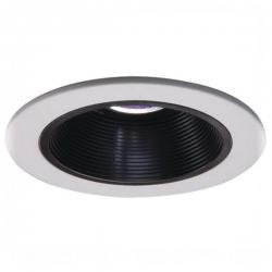 Cooper Lighting 1493P - White Trim - Black Baffle