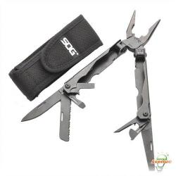 Cully - 37302 - Multi-Tool -- 14 Tools - Black-Oxide