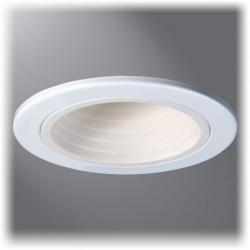Cooper Lighting 4001WB - 4 Inch White Baffle, White Trim