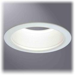 Cooper Lighting 6100WB - 6 Inch White Baffle, White Trims