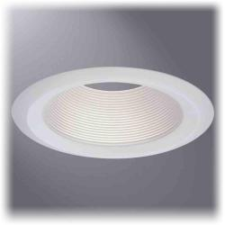 Cooper Lighting 6102WB - 6 Inch White Baffle, White Trim