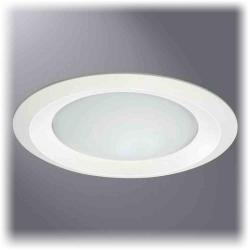Cooper Lighting 6150WH - 6 Inch Frost Dome Glass Lens with Reflector