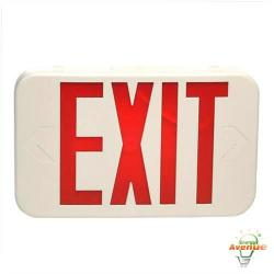 Cooper Lighting - APX7R - LED All-Pro Exit Sign -- Battery Backup - Red on White - 120/277 VAC