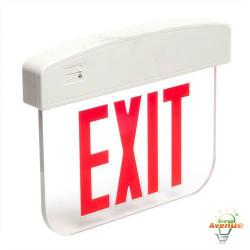 Cooper Lighting - APXEL71R - Sure Lites Single Face LED Edge-Lite Exit Sign -- 4 Watt - 7 LED Lamps - 120/277VAC - Red Letters