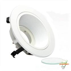 Cooper Lighting - ERT401LVW - 4 Inch Baffle With White Trim -- Halo Low Voltage -	5 Inches OD x 1-1/4 Inches Height