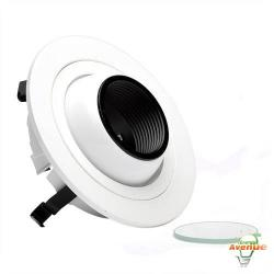 Cooper Lighting - ERT402LV - Halo Low Voltage 4 Inch Eyeball with White Trim -- 5 Inches OD x 2 Inches Height