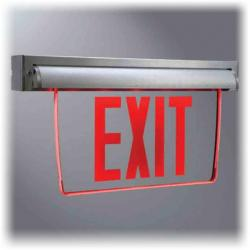 Cooper Lighting - EUX7GWHSD - LED Exit Sign -- Sure-Lite - Self-Powered - Green