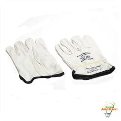Cementex - P0-10-9 - Leather Gloves -- Size 9 - 10 Inches