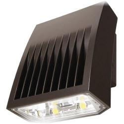 Cooper Lighting XTOR3B - 26W LED Wall Pack - 5000K -- Eaton Lumark Crosstour - 2,751 Lumens - 70 CRI - 120-277V - Carbon Bronze