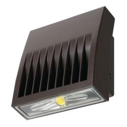 LED Wall Pack - 38 Watt - 4269 Lumens -- 250W MH Equal - 5000 Kelvin - IP 66 Rated - 72,000 Life Hours - 120-277V -Bronze Finish - Cooper Lighting - XTOR4B