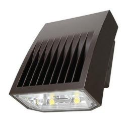 Cooper Lighting XTOR8B - 81W LED Wall Pack - 5000K -- Eaton Lumark Crosstour MAXX - 8,502 Lumens - 70 CRI - 120-277V - Carbon Bronze