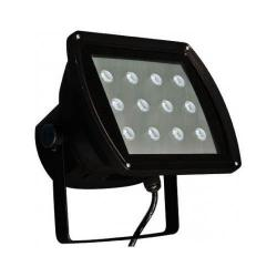 Dabmar - DF-LED5955-B - LED Flood Light -- 12 Watt - 120V - 6400K - Black Finish