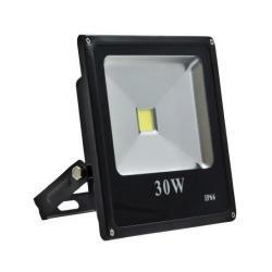 Dabmar DF-LED5962 - 30W LED Flood Light - 6500K - Slim --  LED Chip Light - 2,100 Lumens - 85-265V - Black