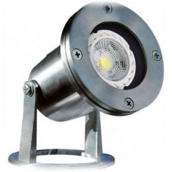 Dabmar - LV323-LED7-SS316 - LED Underwater Fixture -- 7 Watts - MR16 - 12V