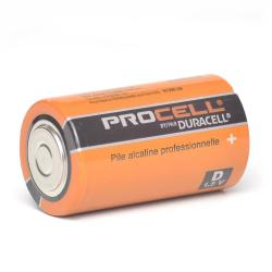 Duracell - PC1300 - Professional D Cell Alkaline Battery -- Price for Single Battery - 1.5V - 4.9oz weight