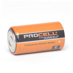Duracell - PC1400 - Professional C Cell Alkaline Battery -- Price for Single Battery - 1.5V - 2.4oz weight