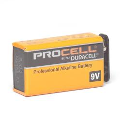 Duracell - PC1604 - Professional 9 Volt Alkaline Battery -- Price for Single Battery - 1.5V - 1.6oz weight
