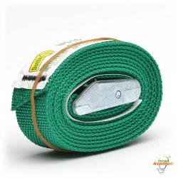L.H. Dottie - WS06 - Web Strap Tie Down - Weatherproof -- 2 Feet Length - Green