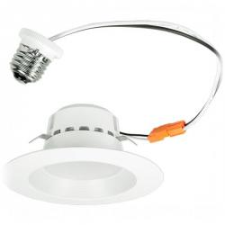 Euri Lighting DLC4-1040e - 4 Inch 13W LED Recessed Downlight - 4000K - 120V