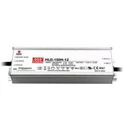 Mean Well - HLG-150H-12 - LED Driver -- 150 Maximum Wattage - 12V - 5 Year Warranty