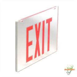 EELP - ZZ-PLEDG-2-RS-PANEL - Red / Silver Double Face Kit for Exit & Emergency Sign