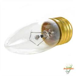 Feit - 60ETC - Clear Torpedo Tip Bulb -- 60 Watt - 120V - E26 Medium Base - Torpedo Bulb - 2,000 Life Hours - 2700K Warm White
