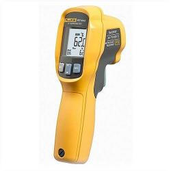 Fluke - FLUKE-62-MAX - Handheld Mini Infrared Thermometer Gun -- Wide Temp. Range - Single Point Offset Laser Sighting - Backlit Display