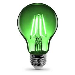 Feit - A19/TG/LED - Green LED Filament Bulb