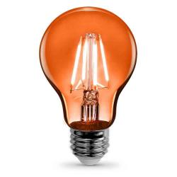 Feit - A19/TO/LED - LED Filament Bulb -- A19 - 3.6 Watt - Orange