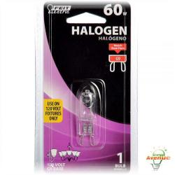 Feit - BPQ60/G9 - Halogen Lamp -- 60 Watt - G9 Base - JCD/T4 Bulb - 120V - 3000K Warm White