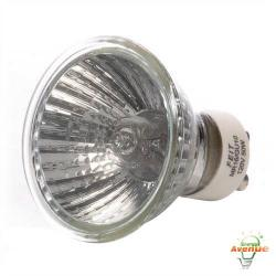 Feit - Q50MR16/GU10 - Soft White Halogen Reflector MR16 -- 50 Watt - GU10 Base - MR16 Bulb - 120V - 3000KWarm White