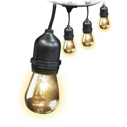 Feit - SP72041 - 30 Ft. Outdoor Weatherproof String Light Set - 10 Socket