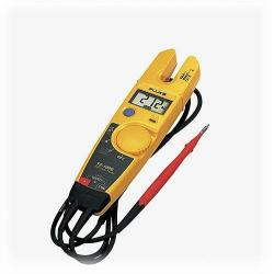 Fluke - T5-1000 - Voltage, Continuity, and Current Tester -- Displays resistance to 1000&#8486 - 0-1000VAC/DC - Heavy duty, flexible leads
